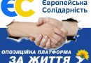 """""""Європейська солідарність"""" та """"ОПЗЖ"""" утворили коаліцію"""