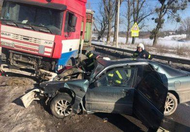 Під Вінницею в ДТП загинув 20-річний пасажир Mitsubishi
