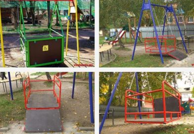 На Вінниччині будують інклюзивні дитячі майданчики