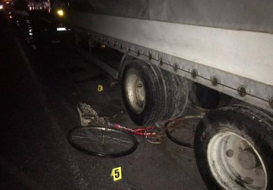 На Вінниччині біля Калинівки вантажівка збила насмерть велосипедиста