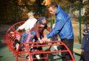 Для дошкільнят продовжують облаштовувати сучасні майданчики